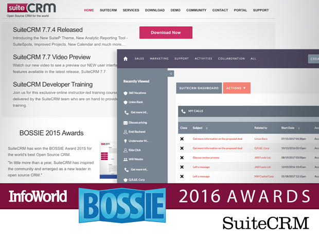 system suite crm bossie awards 2015 2016